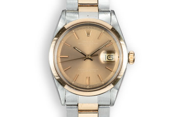 1972 Rolex Two-Tone DateJust 1600 with London Sky Dial photo