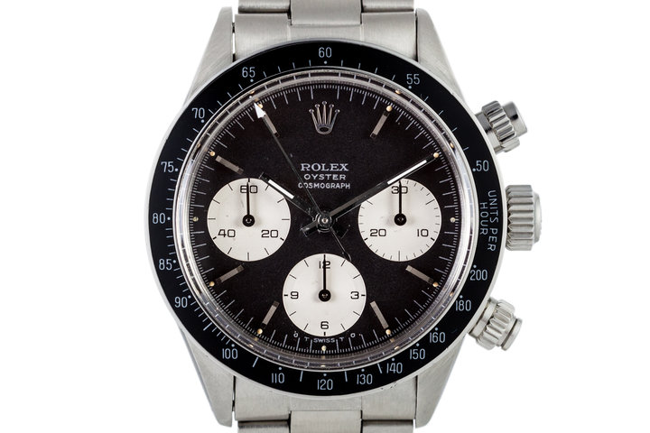 1973 Rolex Daytona 6263 with Black Sigma Dial with Service Papers photo