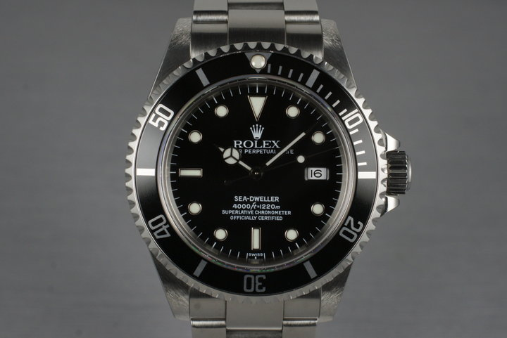 1999 Rolex Sea Dweller 16600 photo