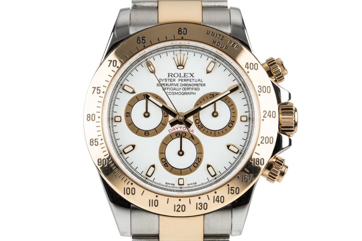2012 Rolex Two Tone Daytona 116523 with Box and Papers photo, #0