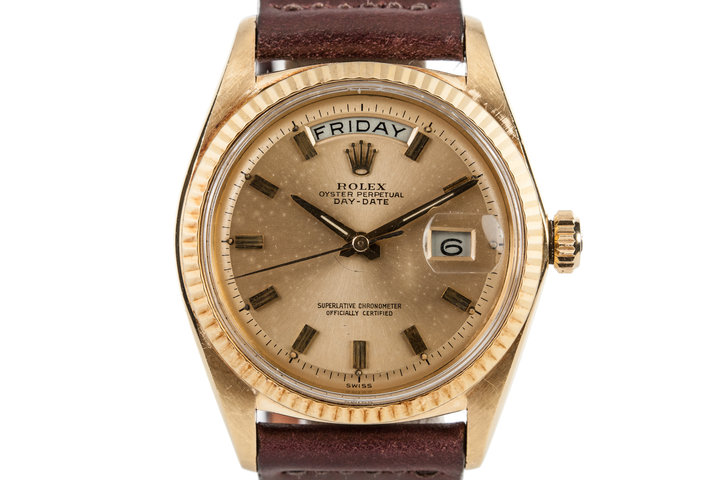 1963 Rolex YG Day-Date 1803 photo