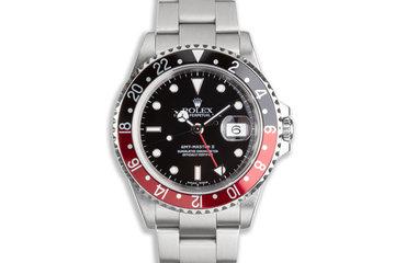"2000 Rolex GMT-Master II 16710 ""Coke"" Bezel photo"