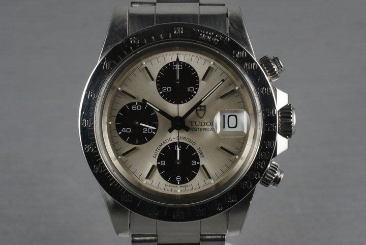 1990 Tudor Chronograph Big Block 79180 With Silver Dial photo