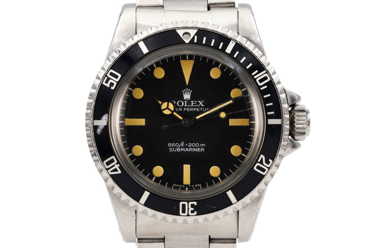 1977 Rolex Submariner 5513 Pre Comex Dial photo, #0