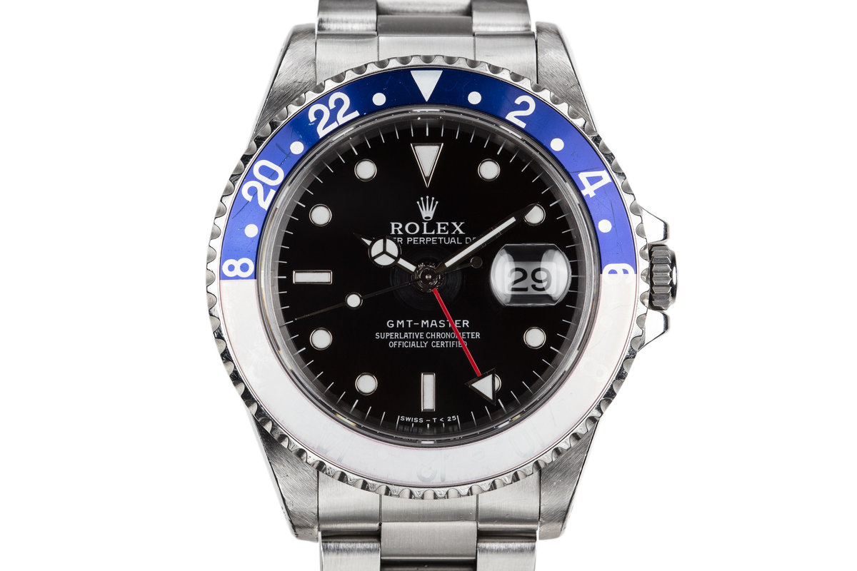 "1997 Rolex GMT-Master 16700 with Faded ""Pepsi"" Bezel photo, #0"