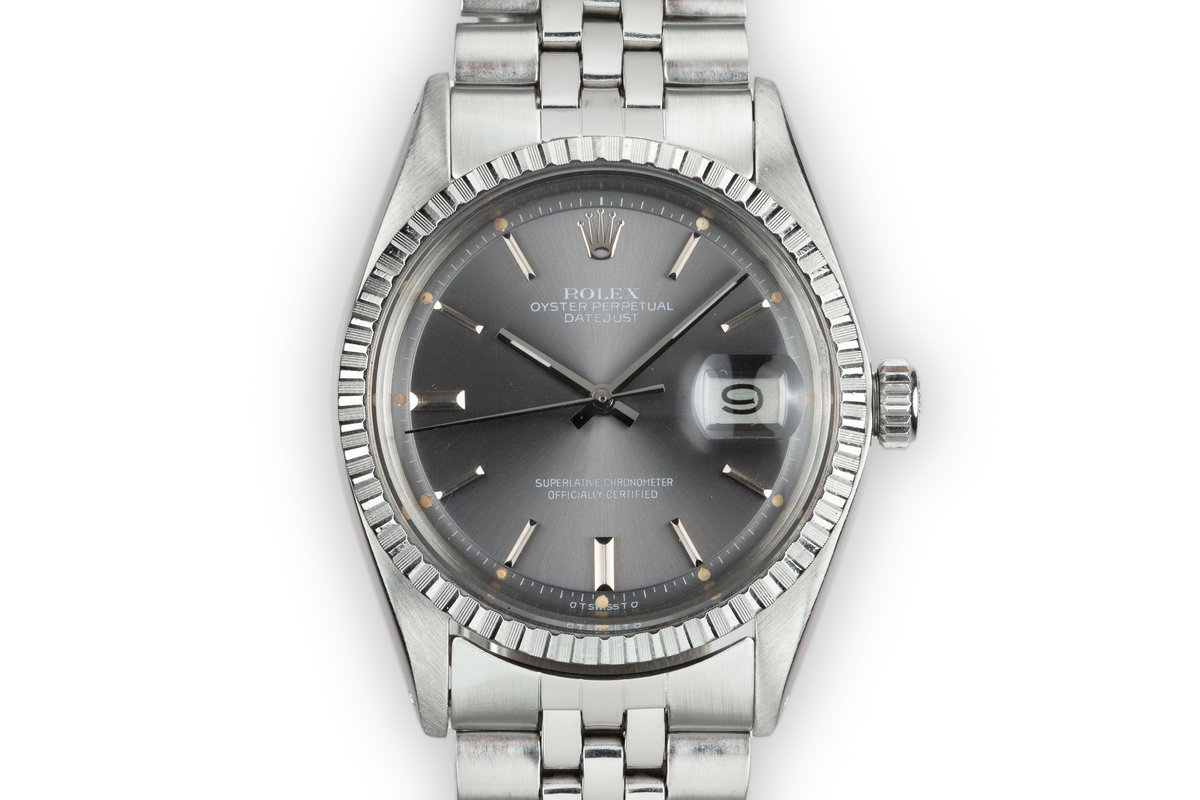1976 Rolex DateJust 1603 Grey Sigma Dial photo, #0