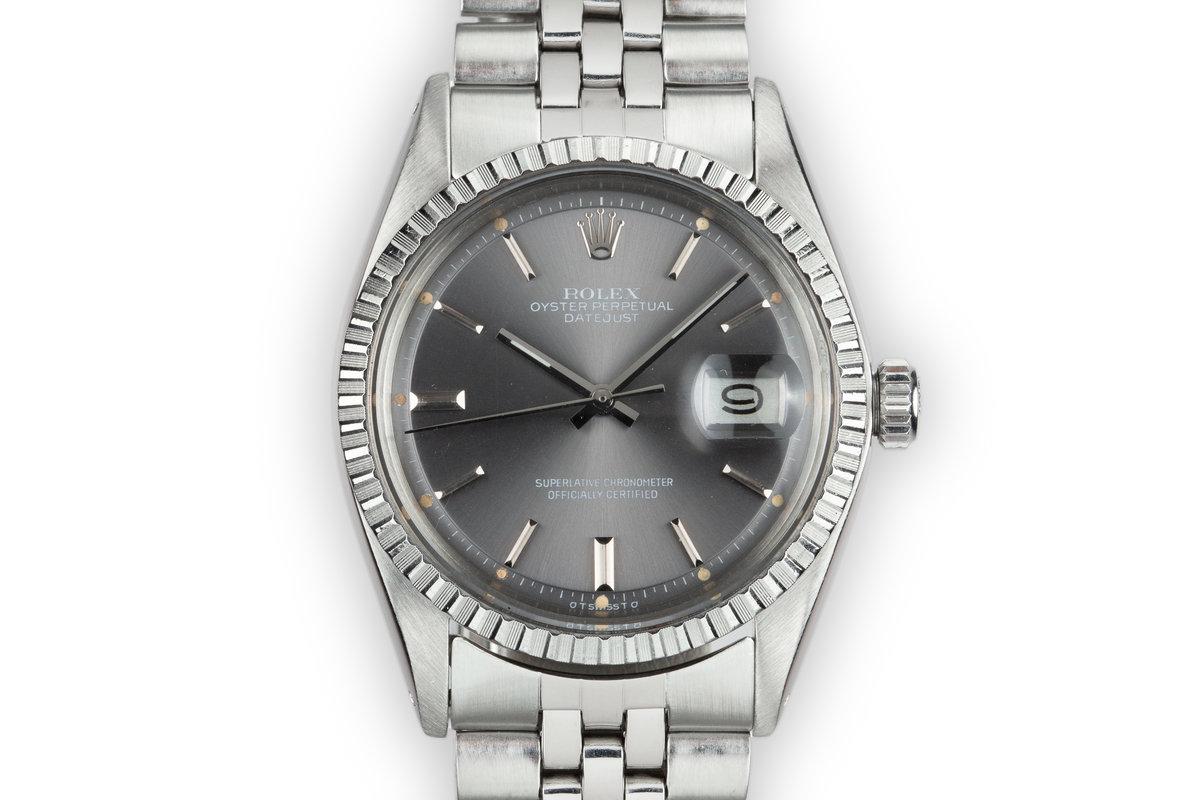 1976 Rolex DateJust 1603 Grey Sigma Dial photo, #0