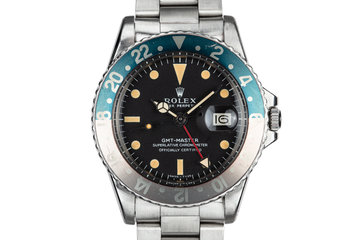 1971 Rolex GMT-Master 1675 with Fat Font Pepsi Insert photo