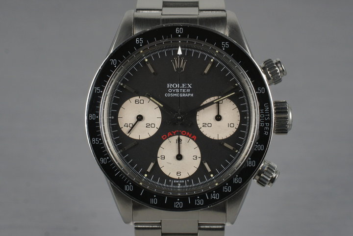 1980 Rolex Daytona 6263 Big Red Daytona Dial with RSC Papers photo