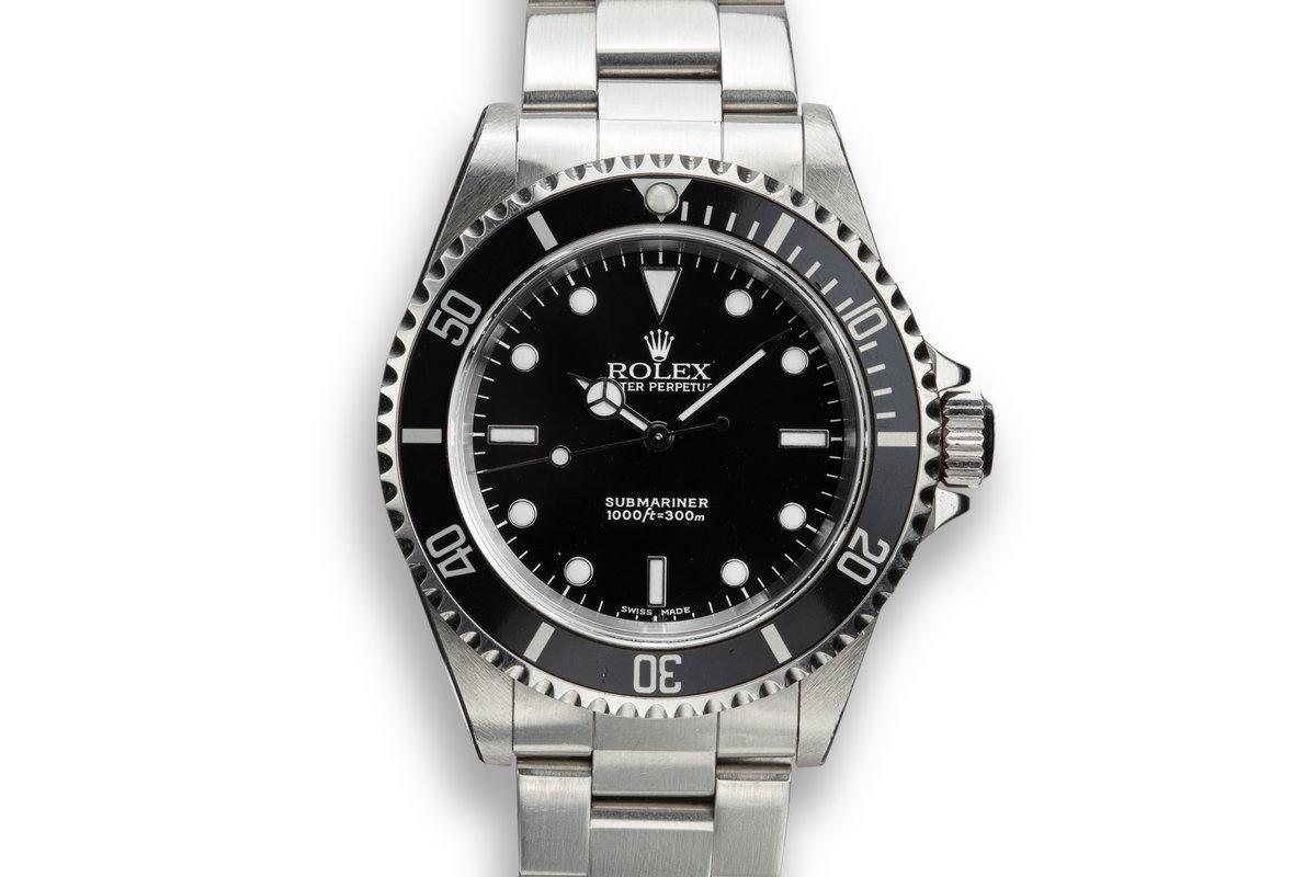 2001 Rolex Submariner 14060 photo, #0
