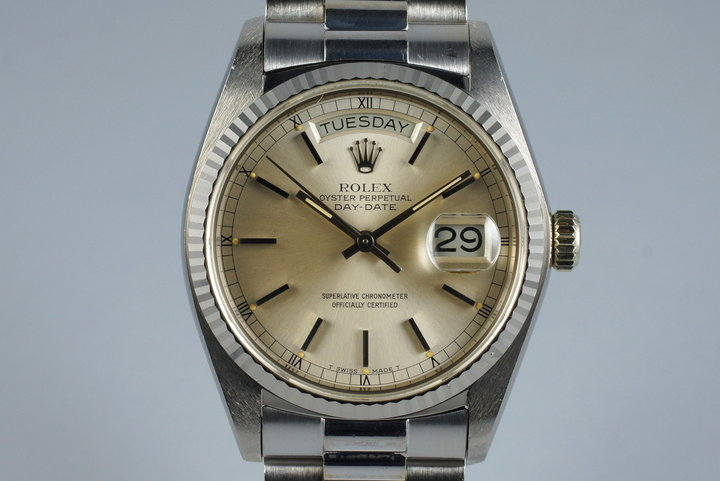 1978 WG Rolex Day-Date 18039 with RSC Papers photo