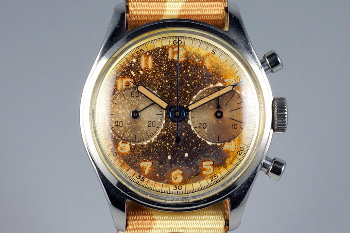 Vintage Turler Chronograph with Tropical Dial photo