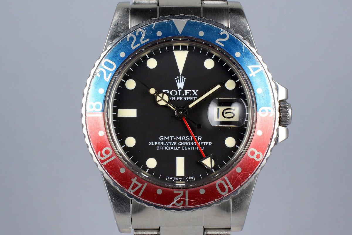 1982 Rolex GMT 16750 Matte Dial photo, #0