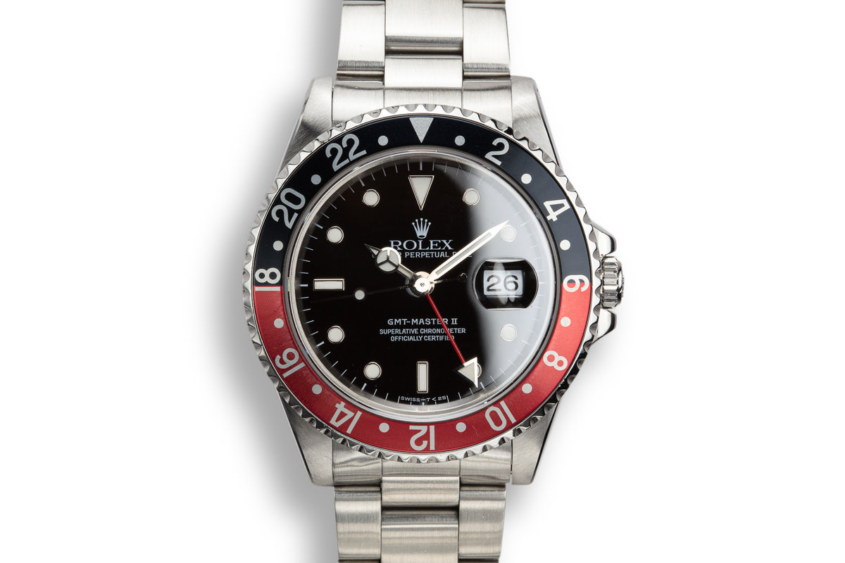 "1990 Rolex GMT-Master II 16710 ""Coke"" photo, #0"