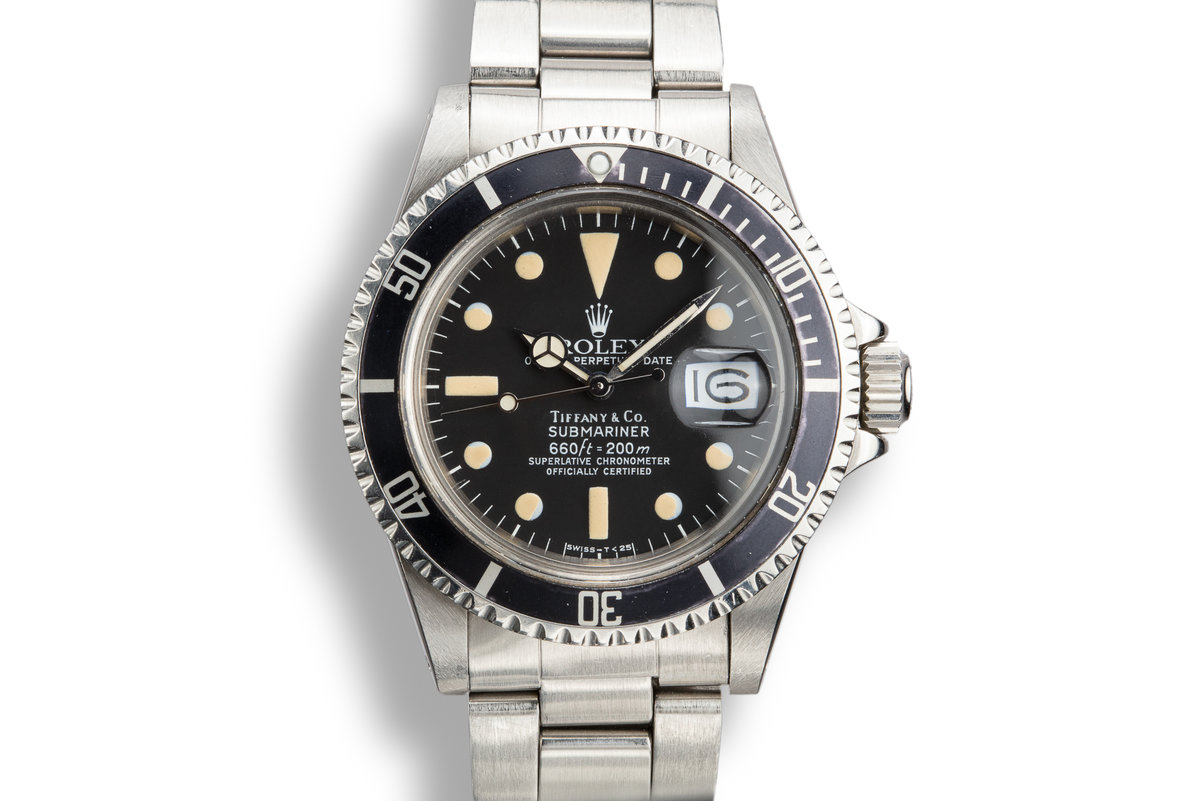 1978 Rolex Submariner 1680 with Tiffany Dial photo, #0