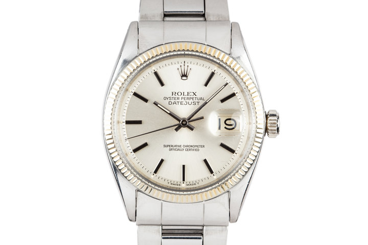 1961 Rolex DateJust 1601 Silver Dial photo