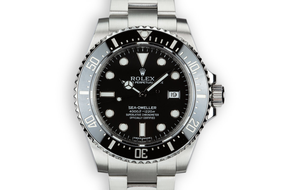 2016 Rolex Sea-Dweller 116600 with Box and Papers photo, #0