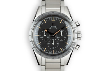 2018 Omega Speedmaster Professional 57' Broad Arrow 311.10.39.30.01.001 with Box and Papers photo