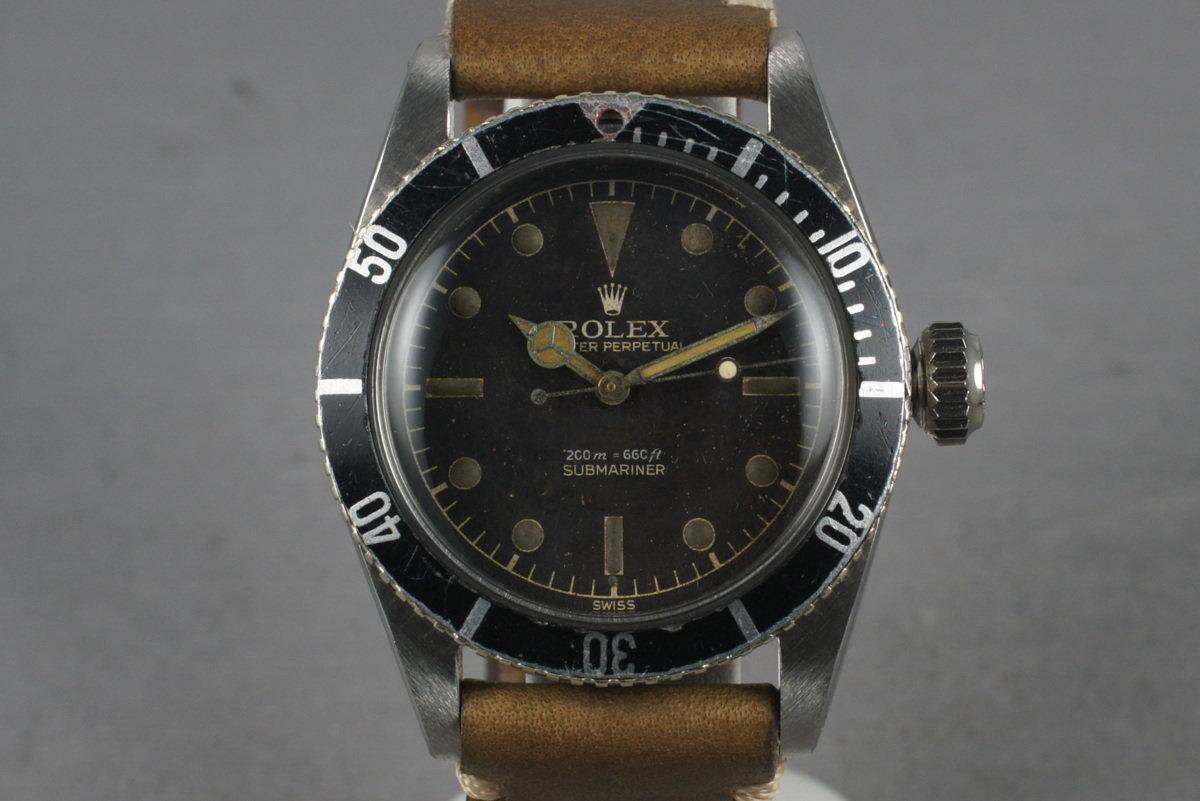 1956 Rolex Submariner Big Crown 6538 photo, #0