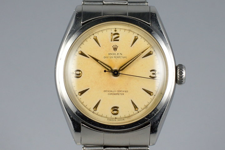 1951 Rolex Oyster Perpetual 6084 with Original Owner Info photo
