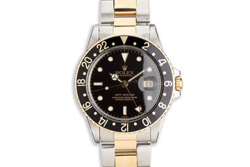 1982 Vintage Rolex Two-Tone GMT-Master 16753 photo