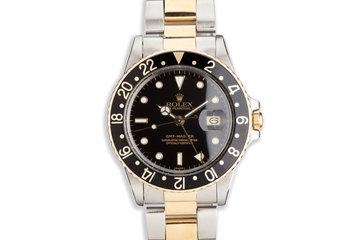 1982 Vintage Rolex Two-Tone GMT-Master 16753 photo