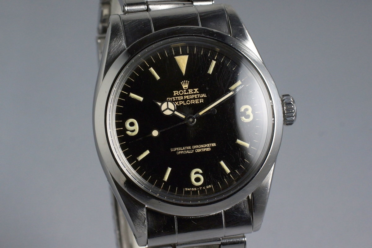 FS: 1966 Rolex Explorer 1 Ref: 1016 Glossy Gilt Dial - Rolex Forums - Rolex  Watch Forum