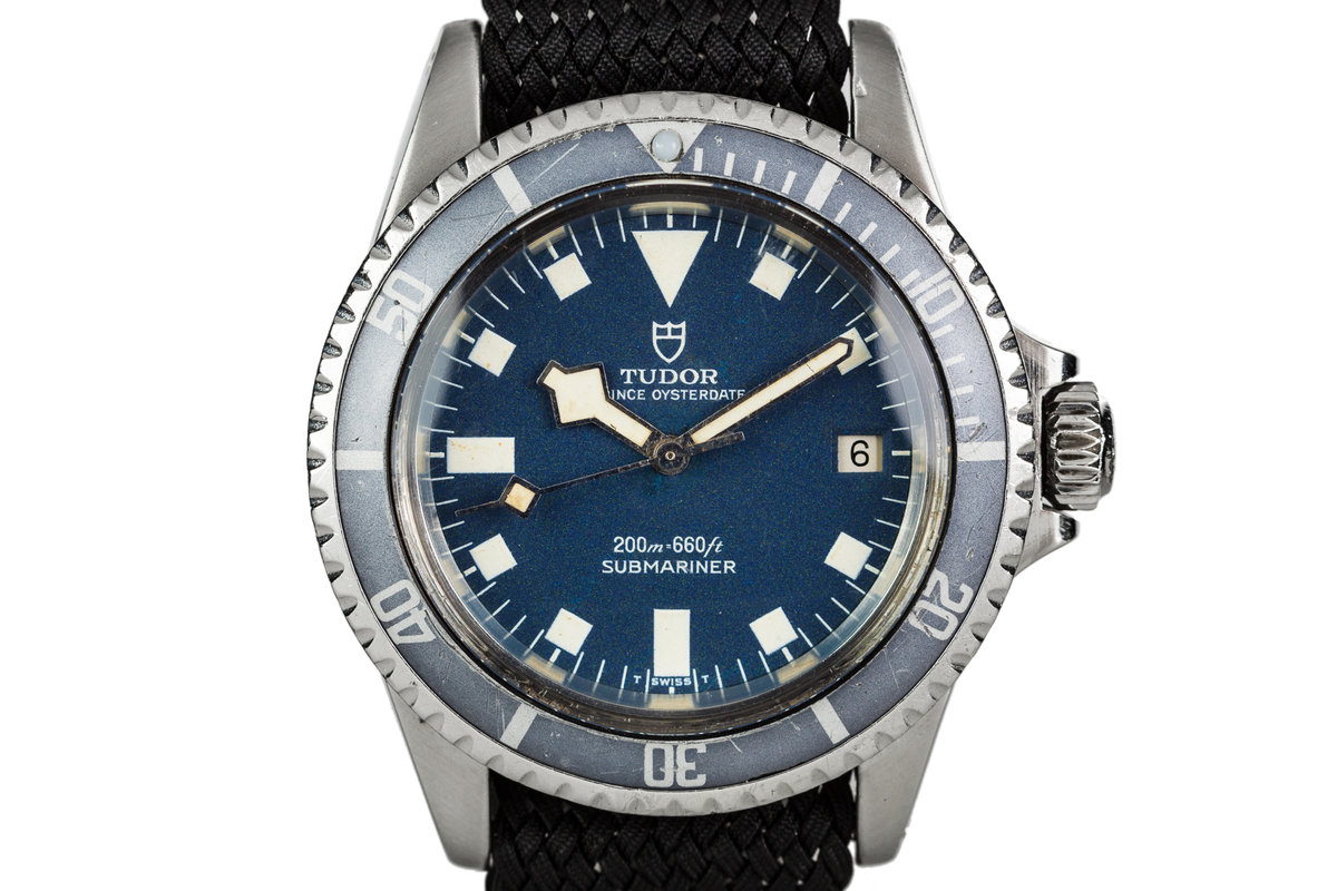"""1968 Tudor Submariner 7021/0 Blue Snowflake Dial with """"Ghost"""" Insert photo, #0"""