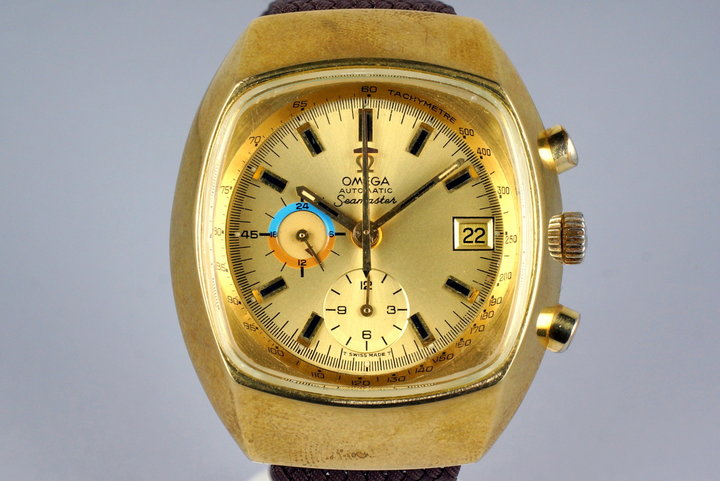 1972 Omega Gold Shell Seamaster 176.005 photo