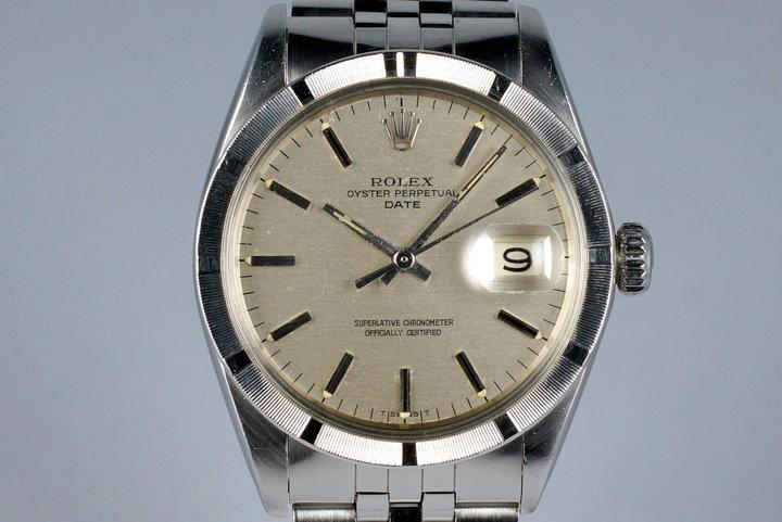 1968 Rolex Date 1501 Silver Dial photo