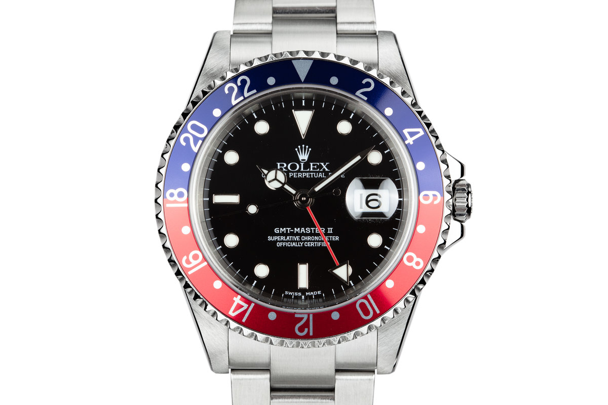 "2003 Rolex GMT-Master II 16710 ""Pepsi"" with Box and Papers photo, #0"