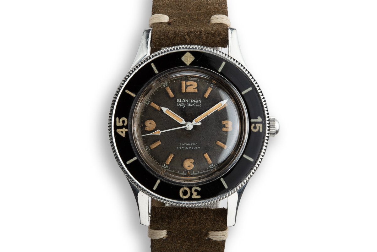 Blancpain Fifty Fathoms Aqualung Rotomatic INCABLOC photo, #0