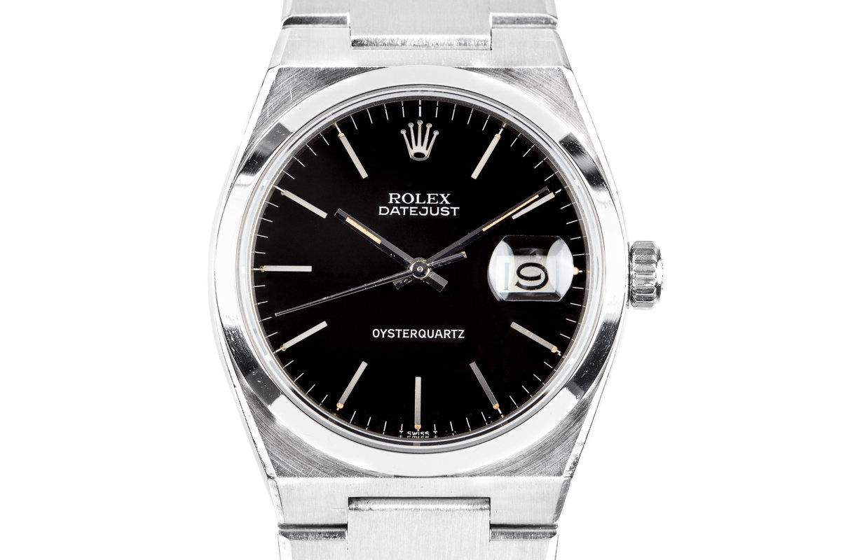 1977 Rolex DateJust OysterQuartz 17000 photo, #0