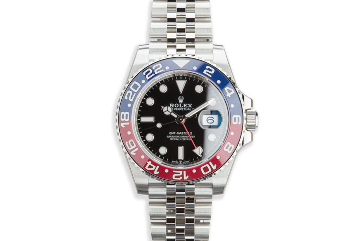 2019 Rolex GMT-Master II 126710BLRO with Full Set photo