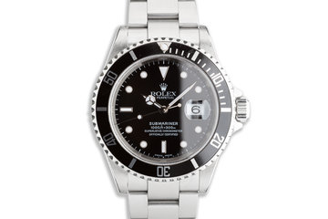2002 Rolex Submariner 16610 with Box & Papers photo