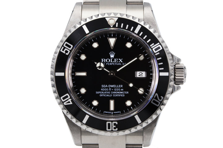 2006 Rolex Sea Dweller 16600 with Box and Papers  photo