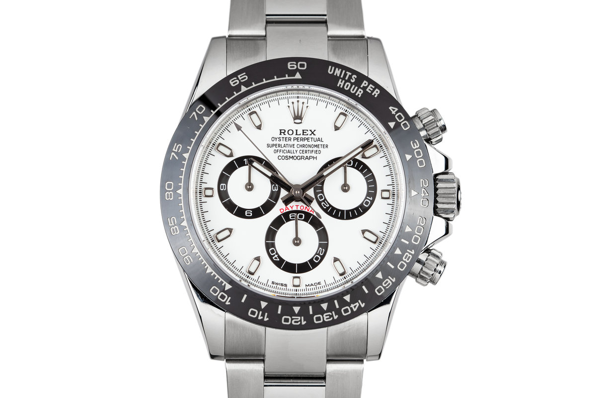 2016 Rolex Ceramic Daytona 116500LN White Dial with Box and Papers photo, #0