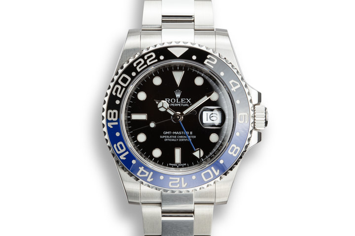 "2013 Rolex GMT-Master II 116710BLNR ""Batman"" with Box and Papers photo"