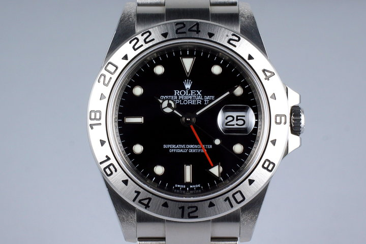 2009 Rolex Explorer II 16570 Black Dial with 3186 Movement photo