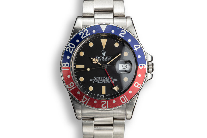 "1984 Rolex GMt-Master 16750 ""Pepsi"" with Box and Papers photo"