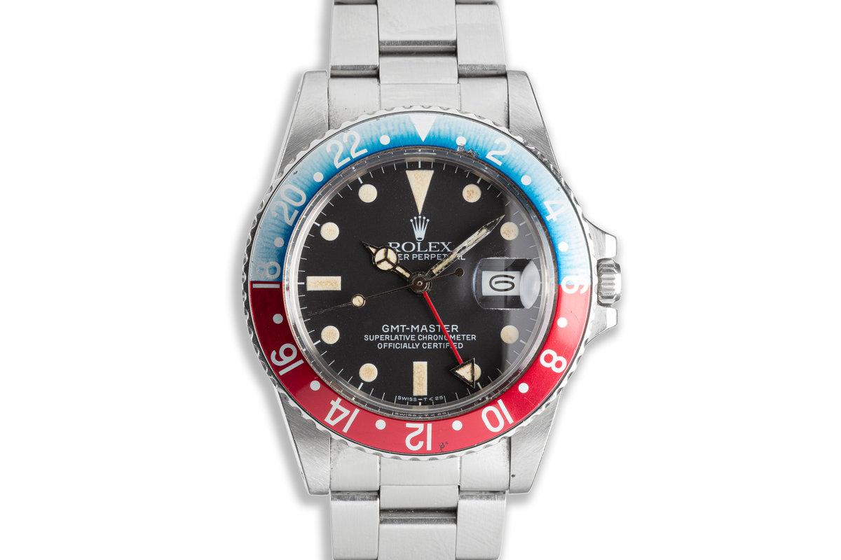 "1984 Vintage Rolex GMT-Master 16750 ""Pepsi"" photo, #0"