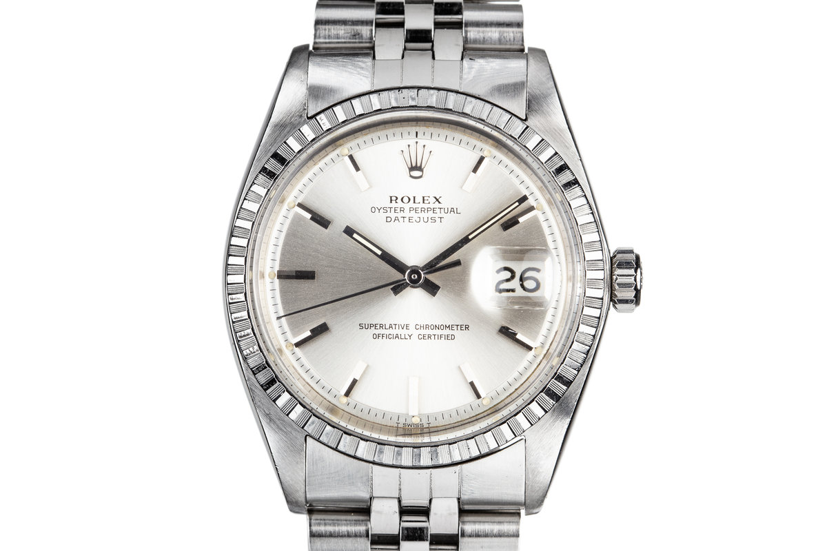 1968 Rolex DateJust 1603 Silver Dial photo, #0