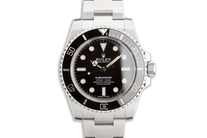2020 Rolex Submariner 114060 with Box and Card photo