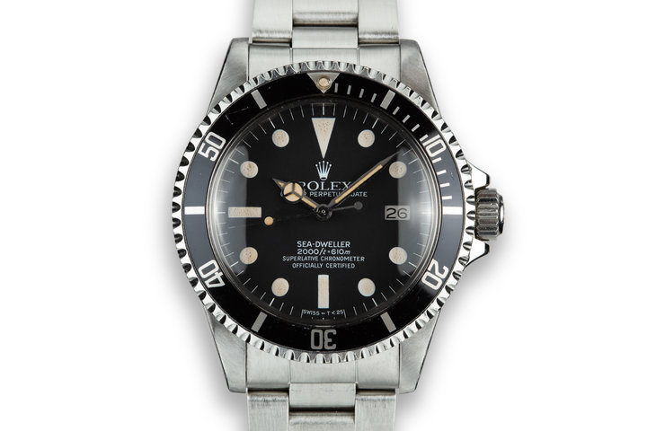 1983 Rolex Sea-Dweller 1665 photo