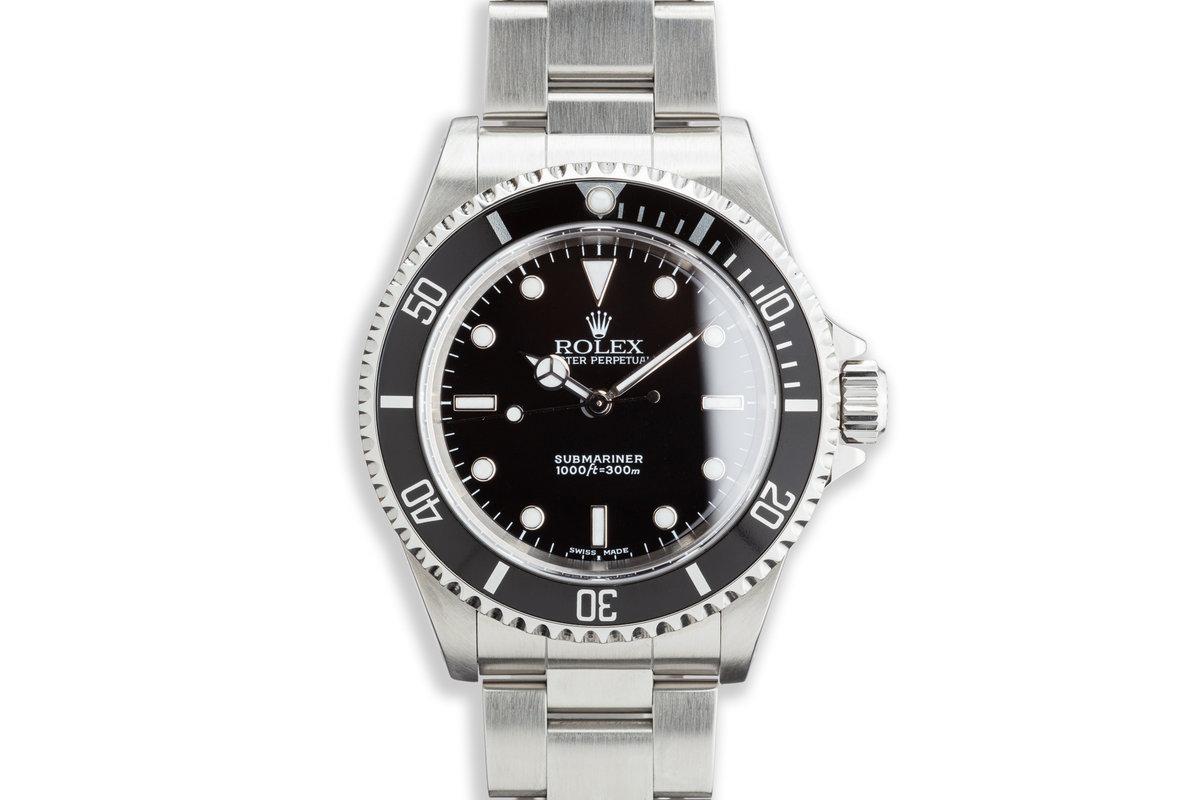 2003 Rolex Submariner 14060M photo, #0
