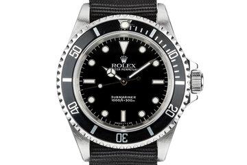 2002 Rolex Submariner 14060 photo