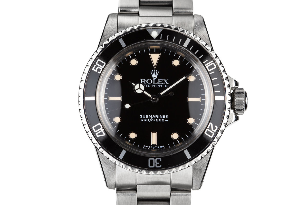 1979 Rolex Submariner 5513 with Service Dial and Hands photo, #0
