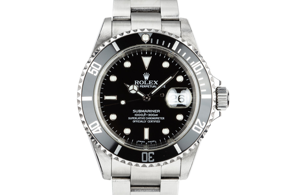 2003 Rolex Submariner 16610 photo, #0