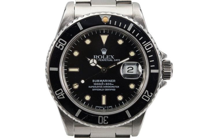 1985 Rolex Submariner 16800 photo