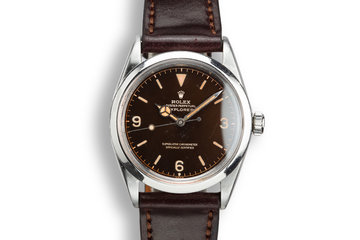 1964 Rolex Explorer 1016 with Tropical Gilt Dial photo